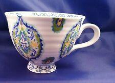 Anthropologie Elka Ayaka Footed Tea Cup Paisley Design Very Nice!