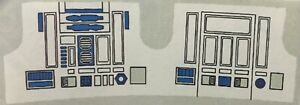 Vintage Star Wars - Replacement Sticker for R2-D2 (R2D2)