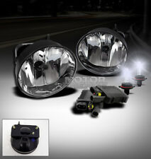 02 03 04 05 06 07 08 09 GMC ENVOY SLE SLT XL XUV BUMPER FOG LIGHT LAMP+8000K HID