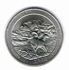 2012-P Brilliant Uncirculated Denali National Park Quarter Coin!