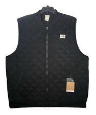 The North Face Cuchillo Insulated Vest 2.0 Black XXL 2XL Quilted Diamond Sherpa