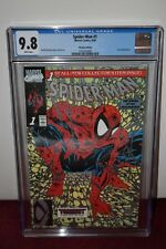 Spider-Man 1 Platinum Variant cgc 9.8, White Pages, HTF, HOT, HOT, HOT!!