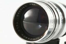 "Very Rare Minolta Chiyoko TELE ROKKOR 13.5cm f4 L39 lens ""MINT"" From Japan"