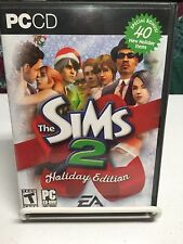 The Sims 2: Holiday Edition 4 DISC SET IN CASE! SIMS 2 GAME! L@@K HERE!