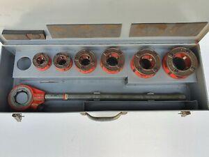 "RIDGID 11-R Pipe Threading Set 1/2- 2"", NPT, Ratchet Threader 36475"