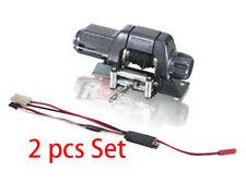 3RACING AUTO Crawler Winch W Control 2pcs EP 1/10 RC Axial SCX10