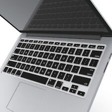 white Keyboard cover Protector MacBooks 2PACK Crystal Guard MB