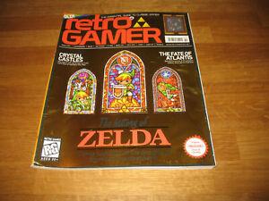 Retro Gamer magazine # 51 issue 51 vintage retro History of Zelda cover