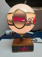 Vintage Coors Light Lamp Adolph Coors Company Golden Colorado Man Cave Bar Sign