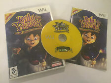 NINTENDO Wii RACE GAME BILLY THE WIZARD ROCKET BROOMSTICK RACING COMPLETE PAL