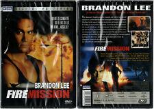 DVD - FIRE MISSION - Brandon Lee,Ernest Borgnine,Beau Davis - NEUF