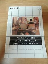 Philips Hostess Trolley make the most of your Hostess user guide 40 pages