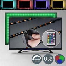 TV Backlight LED Hintergrund-Beleuchtung Licht USB Stripe Streifen Farbwechsel