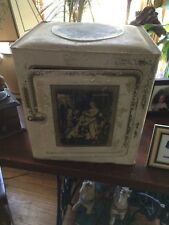Antique Tin Litho Victorian Schepp's Coconut Cake Box