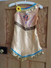 Girls Pocahontas Official Disney fancy dress costume size 7-8 Years