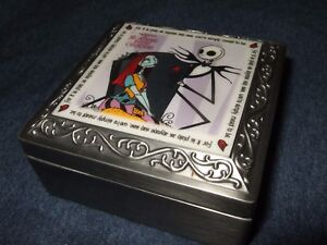 Rare 1993 Nightmare Before Christmas Were Simply Meant To Be Jack Sally Ring Set