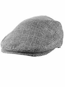 NEW! D&Y Men's Wool Blend Gatsby Classic Flat Newsboy Ivy Cap