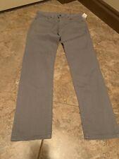 Bonobos Mens Jeans Gray Straight Leg 31/34 NWT (128)