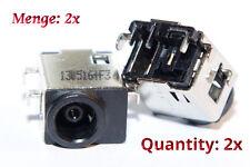 Samsung np300e4v np300e4x np300e5c DC Jack power Connector port prise de courant 2x