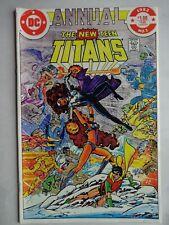 New Teen Titans Annual #1   Omega Men   Blackfire   The Psions   X'Hal (Origin)