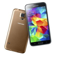 """Samsung Galaxy S5 gold 16GB LTE Android Smartphone 5,1"""" Display ohne Simlock"""