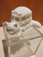 Catbus Figure - 3D Printed White Unpainted Catbus Totoro Ghibli Studios Anime