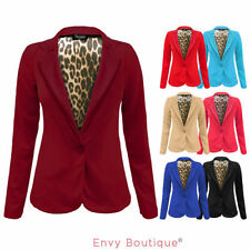 Polyester Blazer Plus Size Coats & Jackets for Women