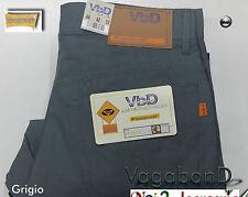 Pantalone estivo Vagabond Jeans cotone 5 tasche Colorati Nero 52