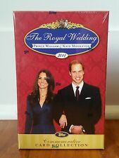 Royal Wedding Prince William Kate Middleton Topps Commemorative Card Collection