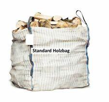 5 x Holz Big Bag 100x100x120cm Sternenboden Holzbag Brennholz Kaminholz Woodbag