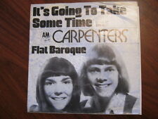 CARPENTERS It's going to take some time German ps