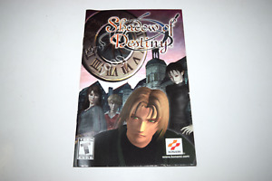Shadow of Destiny Playstation 2 PS2 Video Game Manual Only