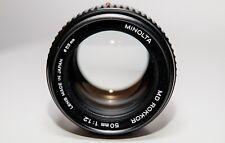 Minolta MD Rokkor 50mm 1:1.2
