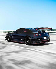 Car Styling Fit Nissan GTR R35 Voltex Style Swan Neck Carbon GT Spoiler WIng