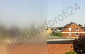 Sichtschutzfolie 200 cm Milchglasfolie Fensterfolie Fenster Folie selbstklebend