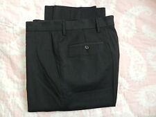 Versace Collection Blue Square Design Flat Front Dress Pants US 32 $295