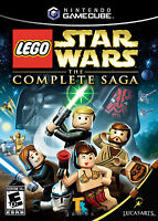 Star Wars The Complete Saga Gamecube Framed Print (Man Cave Picture Game Gaming)