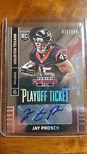 2014 Panini Contenders Jay Prosch 071/199 autograph Texans RC Playoff Ticket