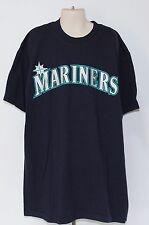 MLB Seattle Mariners Majestic #9 Kids Large Blue T Shirt