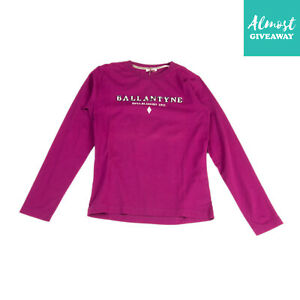 BALLANTYNE T-Shirt Top Size 12Y Embroidered Logo