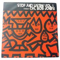 VA - Dr Bob Jones - Stop & Listen Vol1 Vinyl Double LP UK 1996 Press EX/EX
