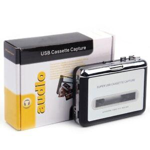 Tape to PC USB MP3 Cassette CD File Converter Capture Audio Digital Music Player