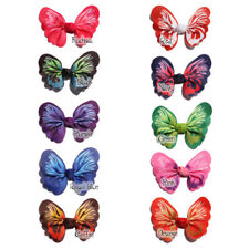 30PCS 6CM Butterfly Shape Hair Bows Bowknots Boutique For Headbands NO clips