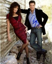 DONNY & MARIE OSMOND signed autographed 11x14 photo