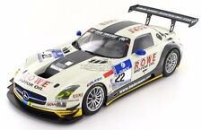 Mercedes SLS AMG GT3 Rowe Racing #22 Nurburgring 24hrs 2012 1:18