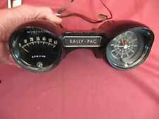 Original 1965 Mustang Accessory Rally-Pac Professionally Serviced
