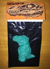 James Groman Rancid Raptor Green Unpainted Dcon 2015 Sofubi Kaiju Rotten Rexx