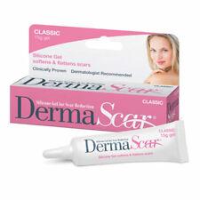 DermaScar Classic Silicone Gel 15g Lightens, Softens & Flattens Scars
