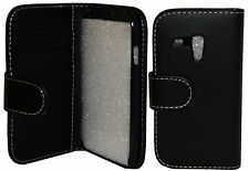 Protective Wallet Leather Flip Pouch Case Cover Samsung Galaxy S3 Mini i8190