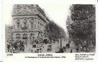France Postcard - Vieux Paris - La Renaissonce Et Le Boulevard Saint-Martin U839